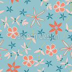 Breezy Summer Vector Pattern