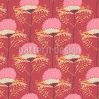 Banksias Seamless Vector Pattern Design