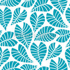 Marine Leaf Design Pattern