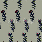 Muted Flower Seamless Pattern
