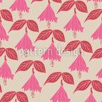 Bellflowers Seamless Vector Pattern