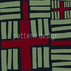 Crosses And Stripes Seamless Vector Pattern Design