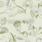 Fairy Tale Meadow Seamless Vector Pattern Design