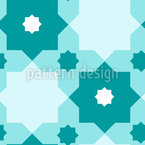 Islamic Star Repeating Pattern