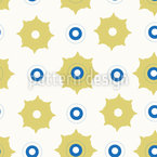 Fantasy Stars And Circles Vector Ornament