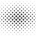 シンプル・スター シームレスなベクトルパターン設計