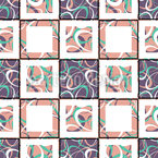 Abstract Chessboard Repeat Pattern