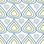 Contoured Drops Pattern Design