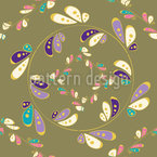 Colorful Carousel Vector Pattern