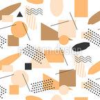 幾何学的なハドル シームレスなベクトルパターン設計