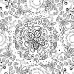 Abstract October Seamless Vector Pattern Design