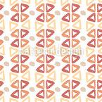 Abstrakte Dreiecke Und Punkte Nahtloses Vektormuster