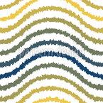 Shibori Wave Stripes Motif Vectoriel Sans Couture