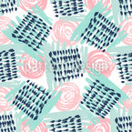 Pastel Brushstrokes Repeating Pattern