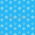 Puzzle-Sterne Nahtloses Vektormuster
