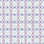 Pixelkreise Nahtloses Vektormuster
