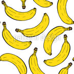 Banana Party Pattern Design
