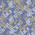 Edged Lines Seamless Vector Pattern Design