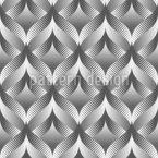 Illusionswellen Vektor Ornament