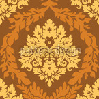 Damask Caramel Vector Design