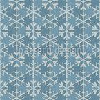 Geometrische Schneeflocken Vektor Ornament