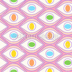 Colorful Eyes Pattern Design
