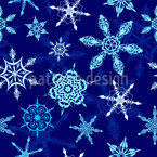 Crystal Dance Seamless Vector Pattern Design
