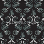 Tulip And Carnation Pattern Design
