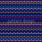 Fluctuation Of Lines Seamless Vector Pattern Design