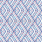 Vertical Triangle Zigzag Seamless Vector Pattern Design