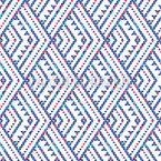 Vertikales Dreieck-Zickzack Nahtloses Vektormuster