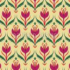 Einfache Wildblume Designmuster