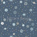 Planeten Im Weltall Rapportiertes Design