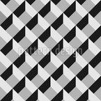 Geometrische Würfel Rapportmuster