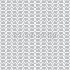 Fluctuation Of Geometric Shapes Seamless Vector Pattern Design