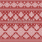 Royally Damask Seamless Vector Pattern Design
