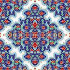 Folhas de jóias Design de padrão vetorial sem costura