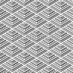 Kleine Minimalistische Pyramiden Nahtloses Vektormuster
