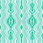 Водный путь Бесшовный дизайн векторных узоров