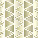 Zick-Zack-Bewegung Von Linien Nahtloses Vektormuster