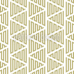 Zigzag-Movement Of Lines Seamless Vector Pattern Design