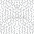 Pyramids Out Of Triangles Seamless Vector Pattern Design