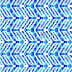 Dreieck Zickzack Nahtloses Vektormuster
