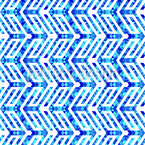 Triangle Zigzag Seamless Vector Pattern Design