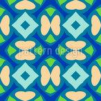 Minimalistic Butterflies Vector Ornament