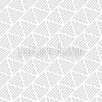 Bewegung Geometrischer Formen Nahtloses Vektormuster