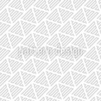 Movement Of Geometric Shapes Vector Pattern