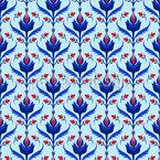本物の花 シームレスなベクトルパターン設計