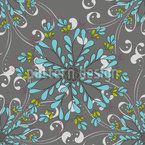 November Snow Pattern Design