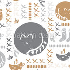 Pure Hygge Seamless Vector Pattern Design